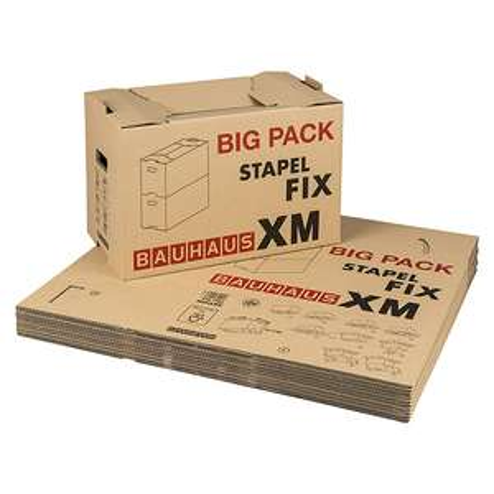 Umzugskarton-Set (10Stk.) Multibox XM Stapel-Fix BAUHAUS Karlsruhe-Mühlburg (Lokal) zum 30. Geburtstag