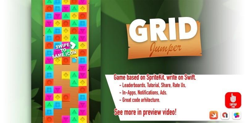 Grip Jumper - iOS Source Code   GRATIS auf Codester