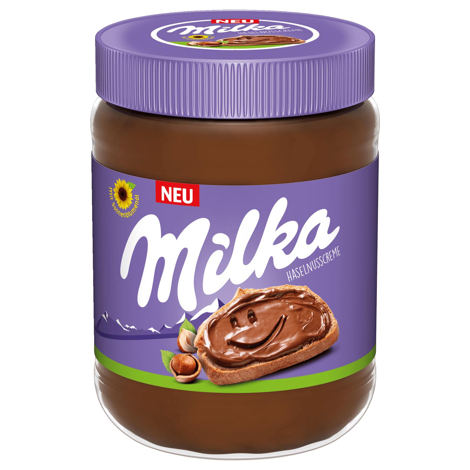 Milka Haselnusscreme je 350g Glas - ohne Palmöl für 1,75€ (App Coupon) [Edeka Südwest (Frankfurt, Stuttgart, etc.)]