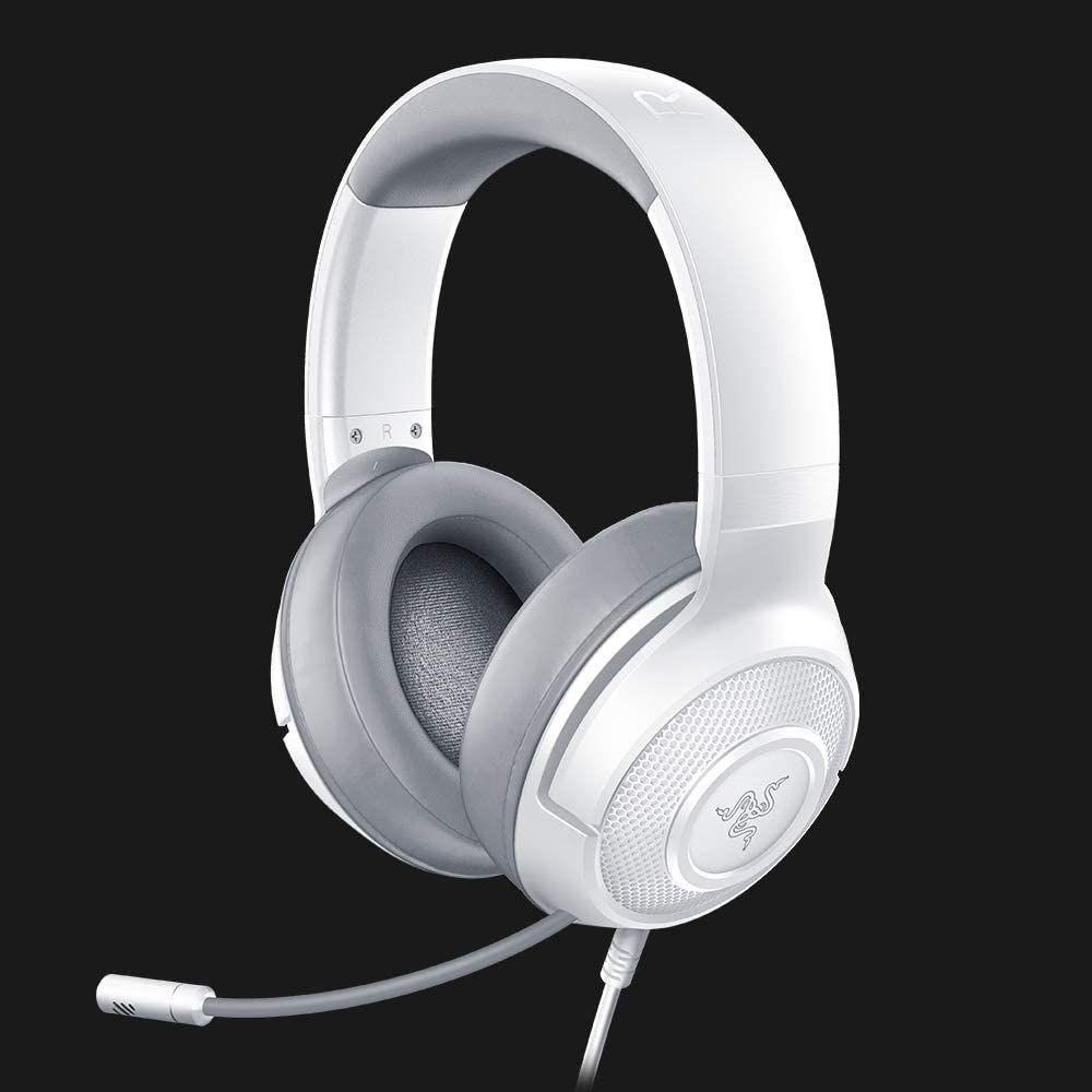 Razer Kraken X - kabelgebundenes Multi-Plattform-Gaming-Headset - Mercury ] Amazon]