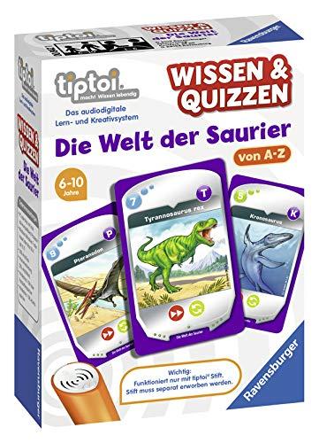 [Prime] Ravensburger tiptoi 00842 - Wissen & Quizzen: Welt der Saurier und Weitere