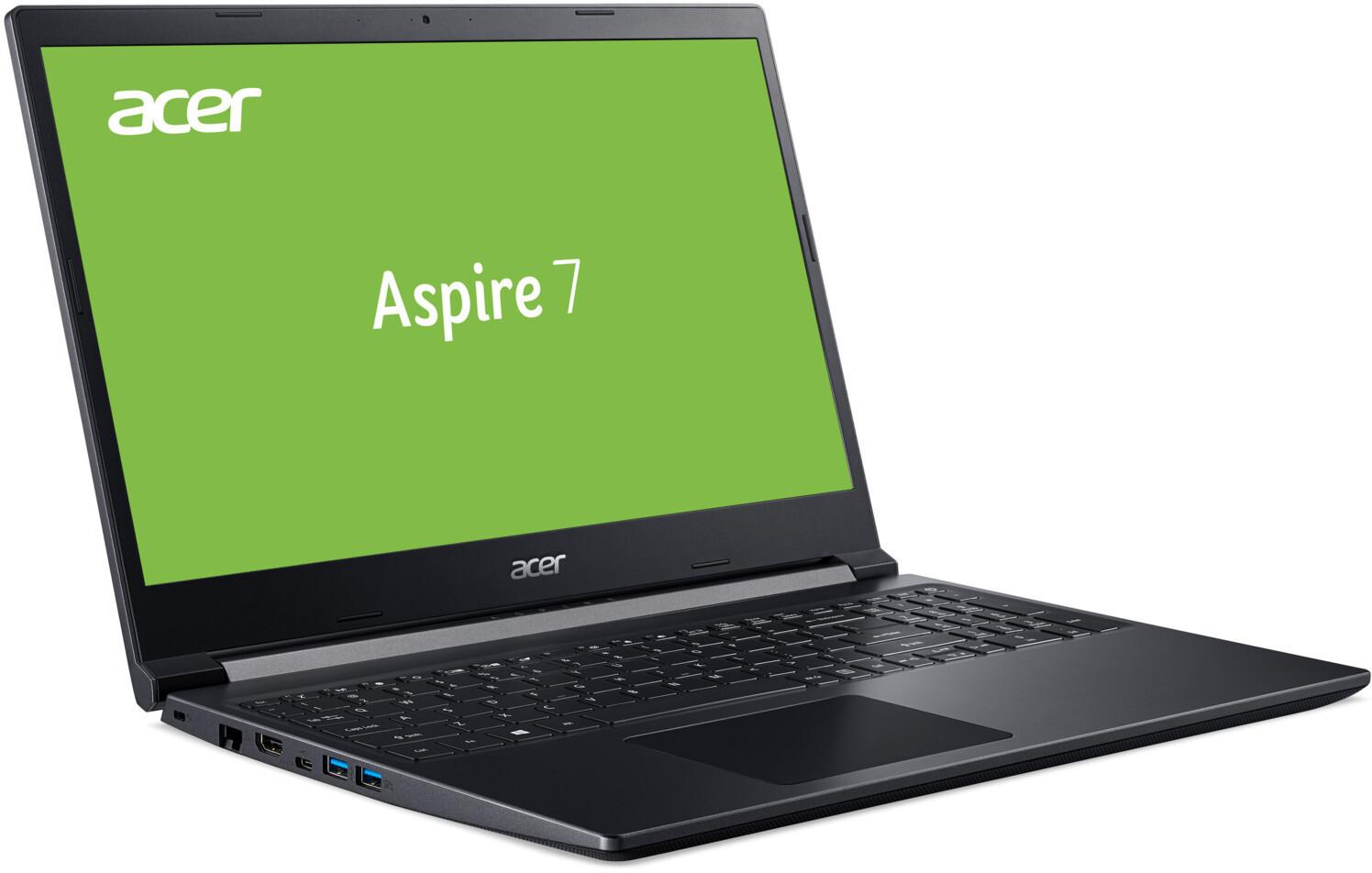 """Acer Aspire 7 Notebook mit 15,6"""" FHD, AMD Ryzen 5 3550H, GTX1650, 8GB RAM , 512GB SSD, Bel. Tastatur, Fingerprint für 581,11€ (Media Markt)"""