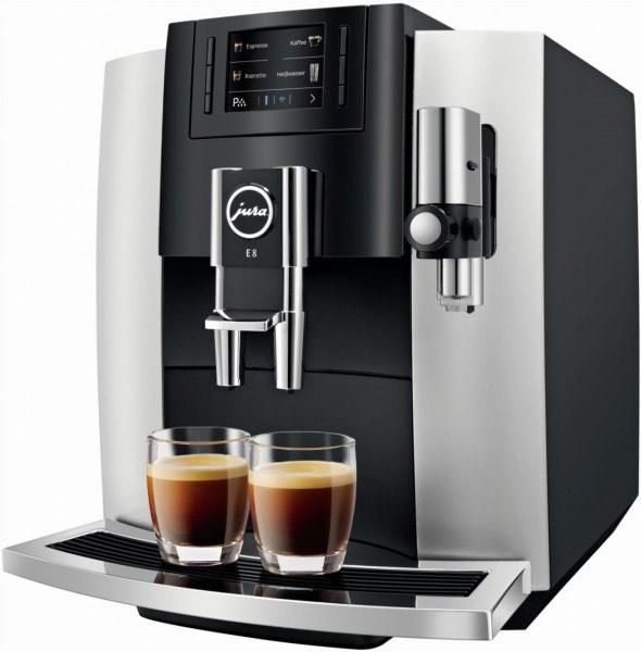 Jura E8 (Modell 2018) Platin Kaffeevollautomat