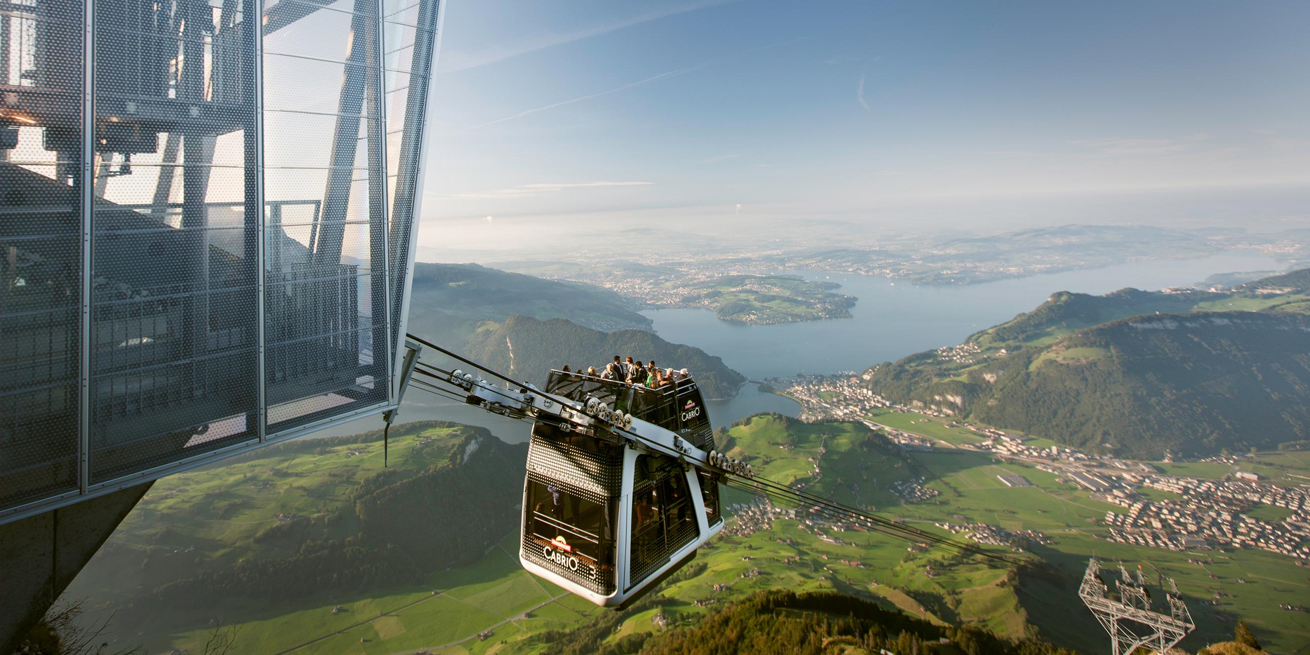 [lokal Schweiz] 50% Ermässigung auf die Bergbahnfahrt Stans–Stanserhorn retour