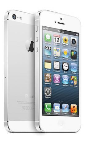 Apple iPhone 5 64 GB weiß