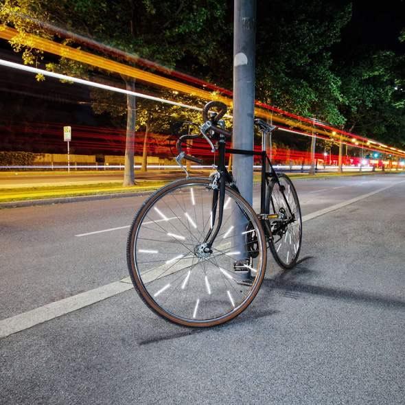 WeFlex - Flex Clips Fahrrad Reflektoren