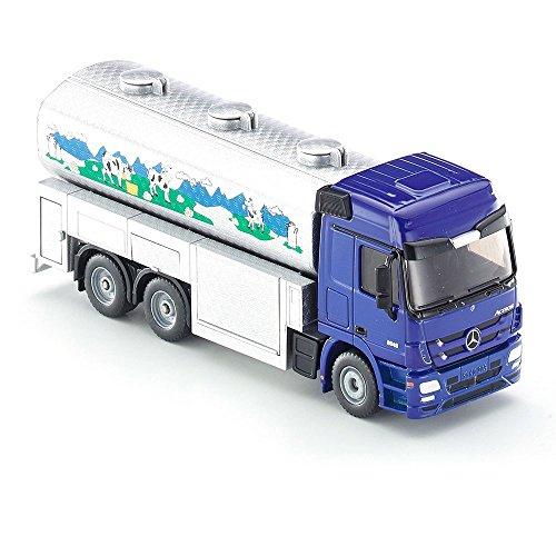 Siku, Milchsammelwagen, 1:50, Metall/Plastik, Mercedes-Benz Zugmaschnine für 9,75€ (Amazon Prime & Müller Abholung)
