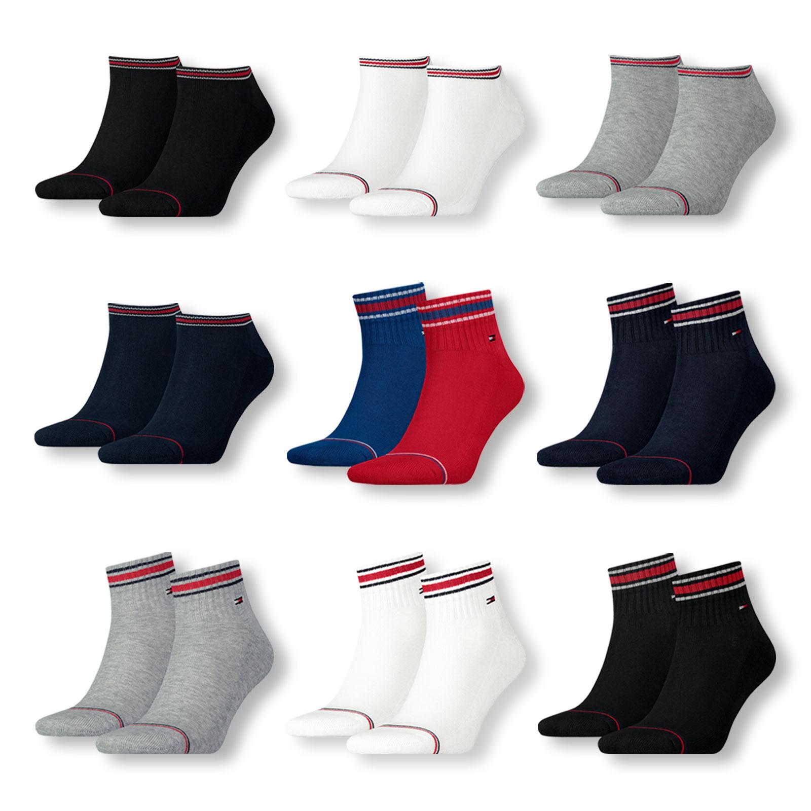 8er Pack Tommy Hilfiger Iconic Sports - Sneaker oder Quarter Socken (Größen: 39-42 und 43-46) für 27,99€ oder 16er Pack für 44,78€
