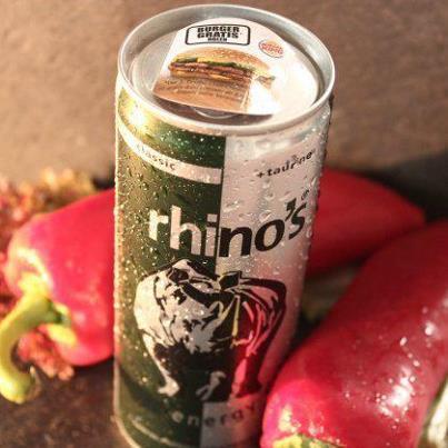burger king gutschein + rhino energy im realkauf
