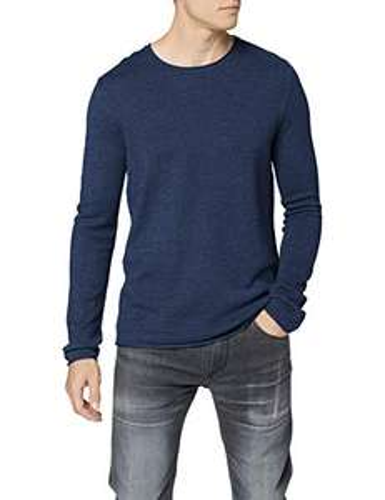 [Amazon Prime] SELECTED HOMME Herren Pullover, Größe S, blau