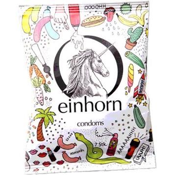 Einhorn Kondome Jahresvorrat (normal und big)