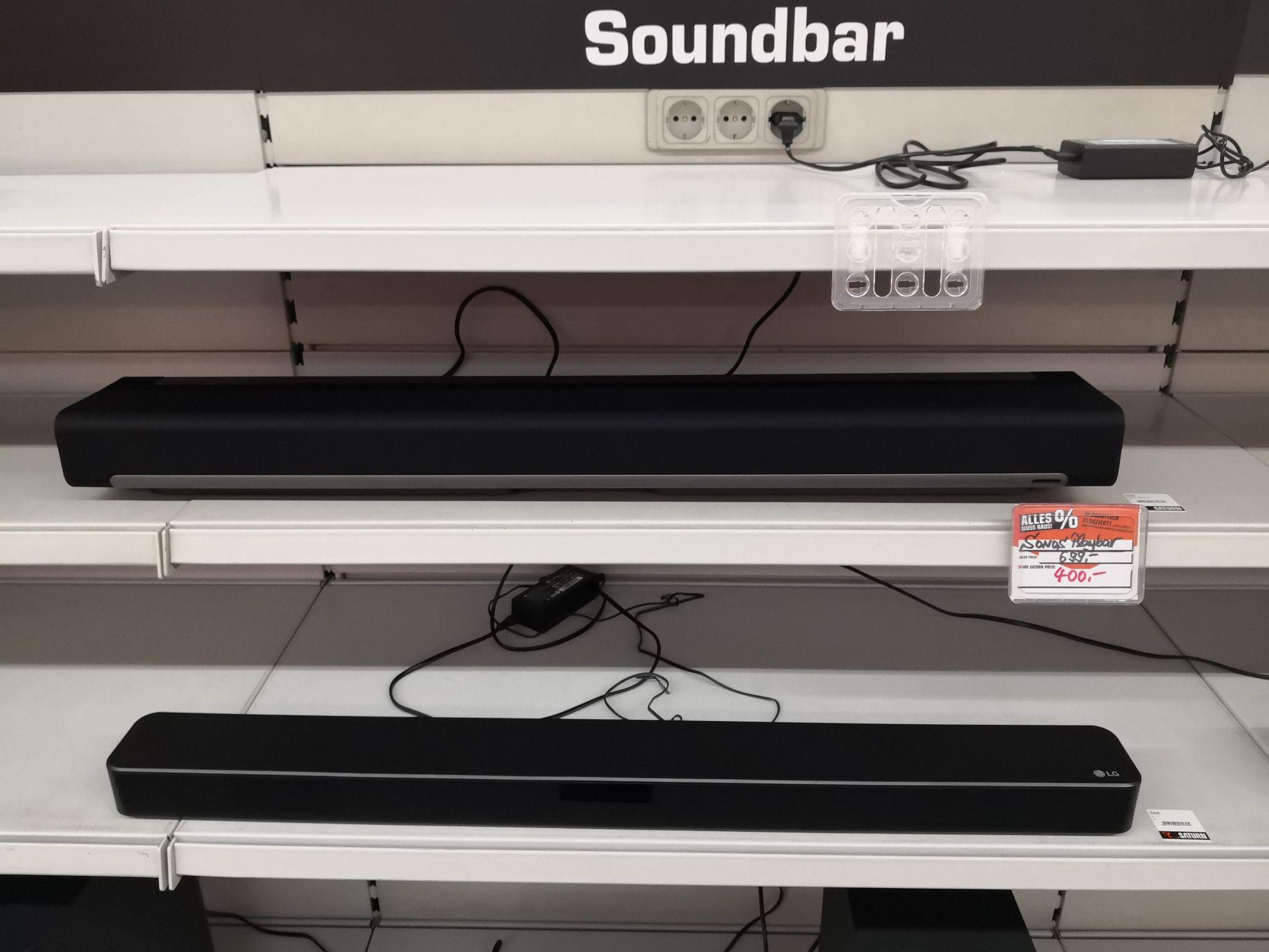 (Lokal Saturn HH) Sonos Playbar (wohl Aussteller)