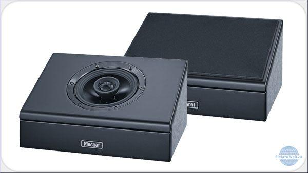 Magnat Cinema Ultra AEH-400-ATM Lautsprecherpaar (50W RMS, Dolby Atmos per Reflexion oder Direktstrahler, Wandhalterung)