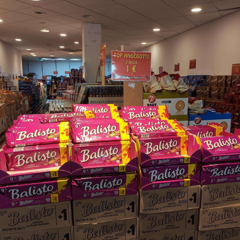 Lokal Köln Süßwarenfabrik 2 x Balisto Yoberry für 1€ [MHD 23.08.2020]