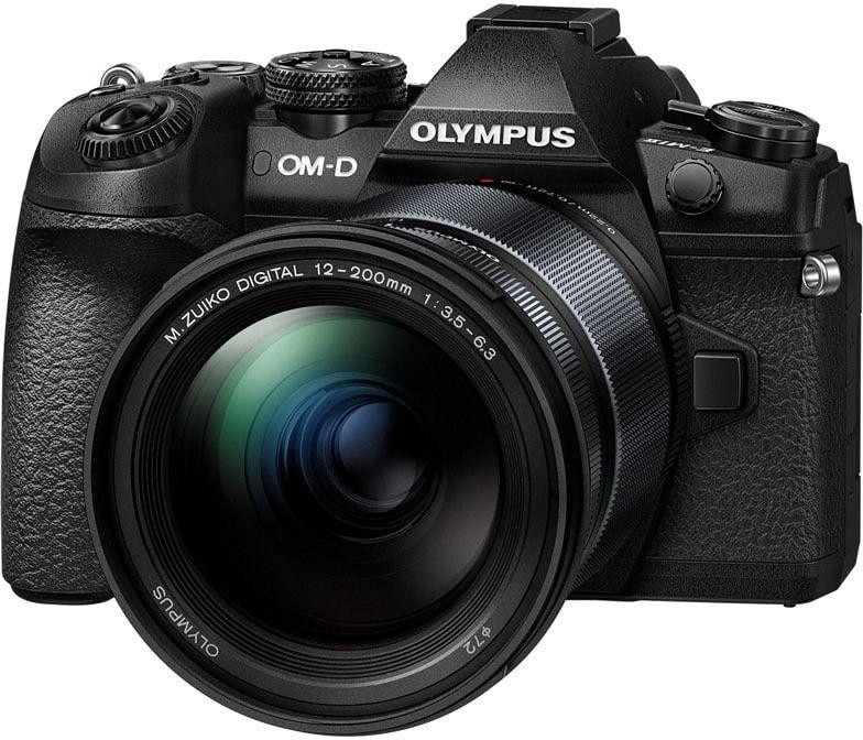 Olympus OM-D E-M1 Mark II MFT Systemkamera inkl. 12-200F3,5-6,3 Objektiv - Olympus UK