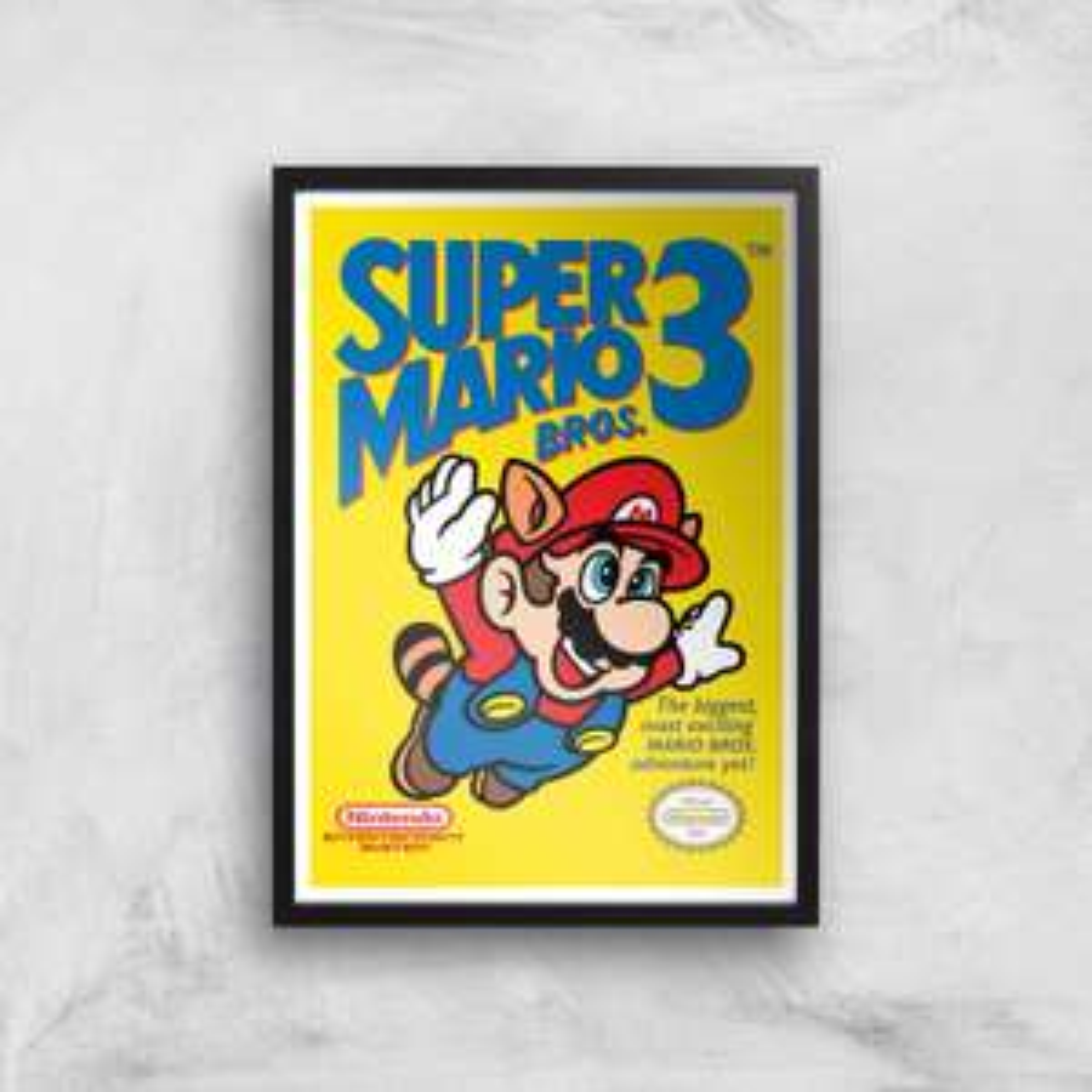 25% Rabatt auf Kunstdrucke + gratis Versand, z.B. NINTENDO Super Mario Bros 3 (DIN A4)