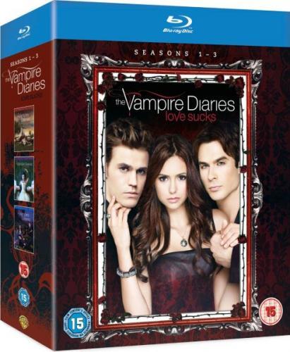 (TheHut) The Vampire Diaries - Seasons 1-3 Blu-ray für 38 Euro ( O-Ton)