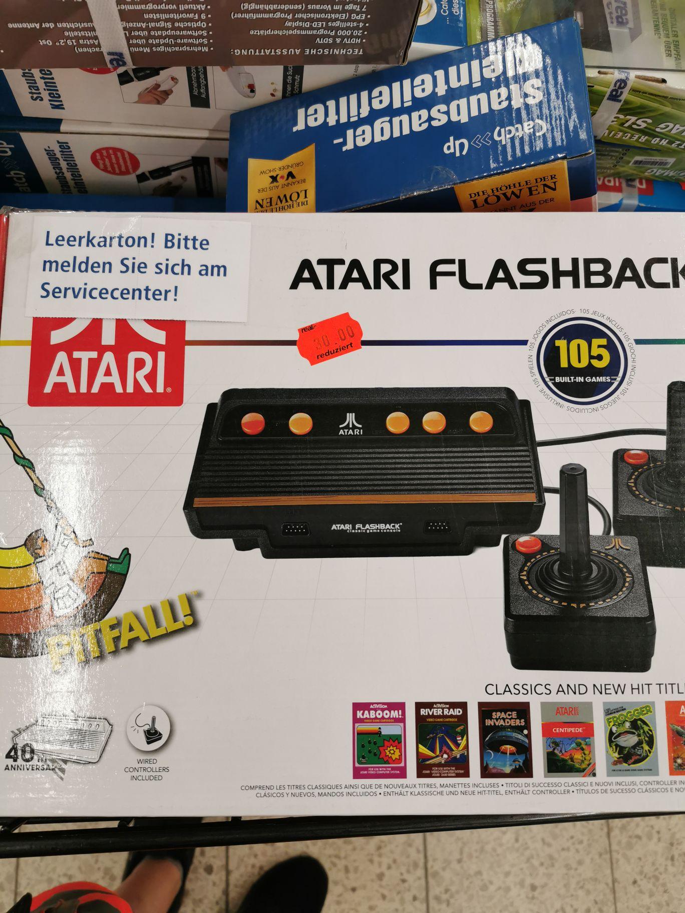 [Lokal real,- Schwedt] Atari Flashback 8 für 30 Euro