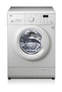 LG ELECTRONICS F 1491 QD, Waschmaschine, Frontlader, 7kg, 1400 U/M, Inverter Direkt Drive