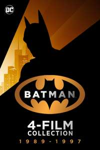 4K STREAM KAUFFILME * Batman 4 Film Collection (1989 - 1997) * HDR/Dolby Vision/Atmos