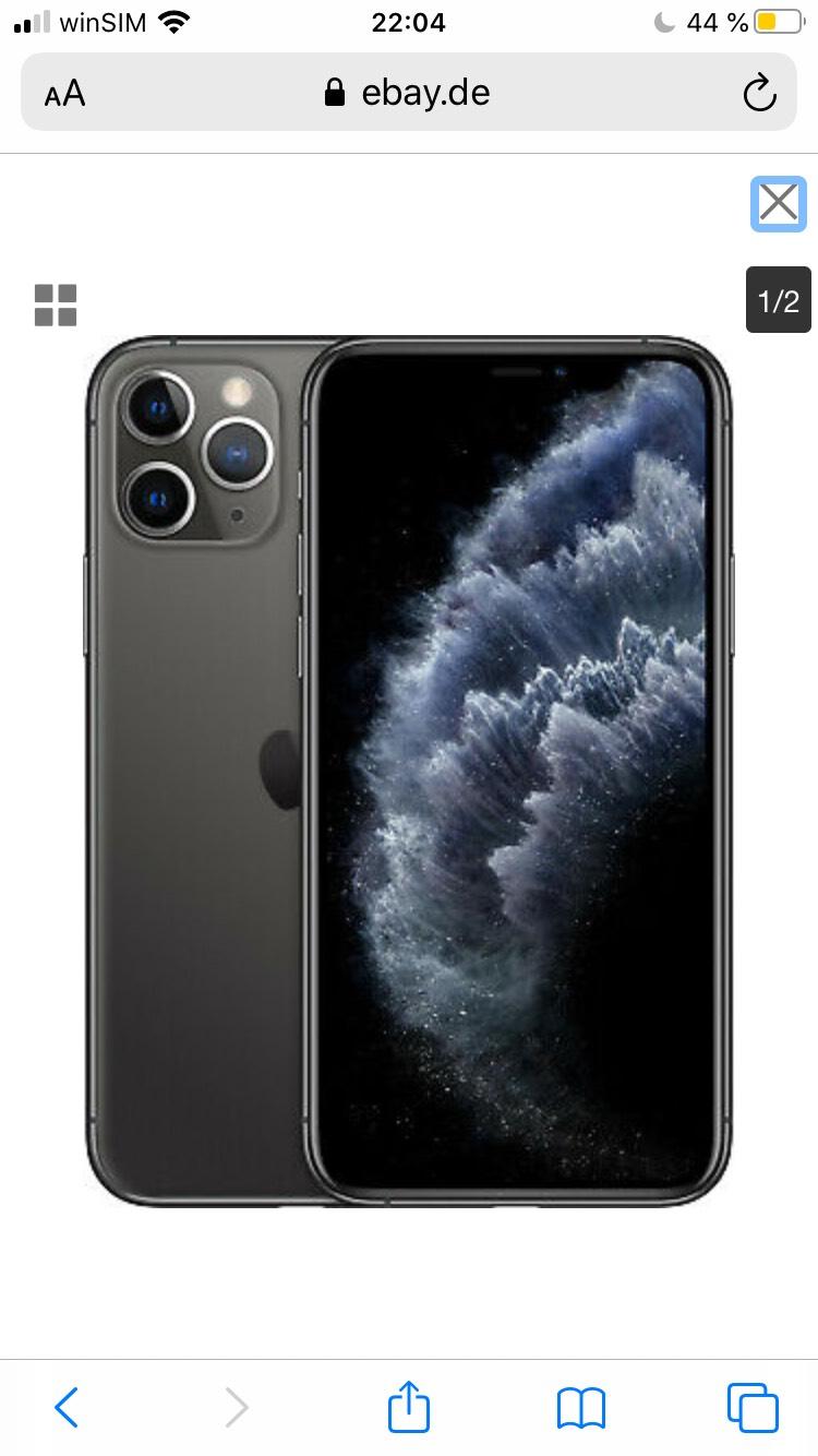 iPhone 11 Pro 256 GB [eBay, differenzbesteuert, Space Grau]