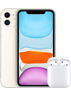 o2 Apple iPhone 11 64GB + gratis AirPods mit UNLIMITED LTE