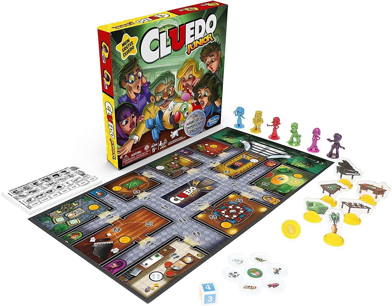 Cluedo Junior, klassisches Detektivspiel, ab 5 Jahren [Amazon Prime]