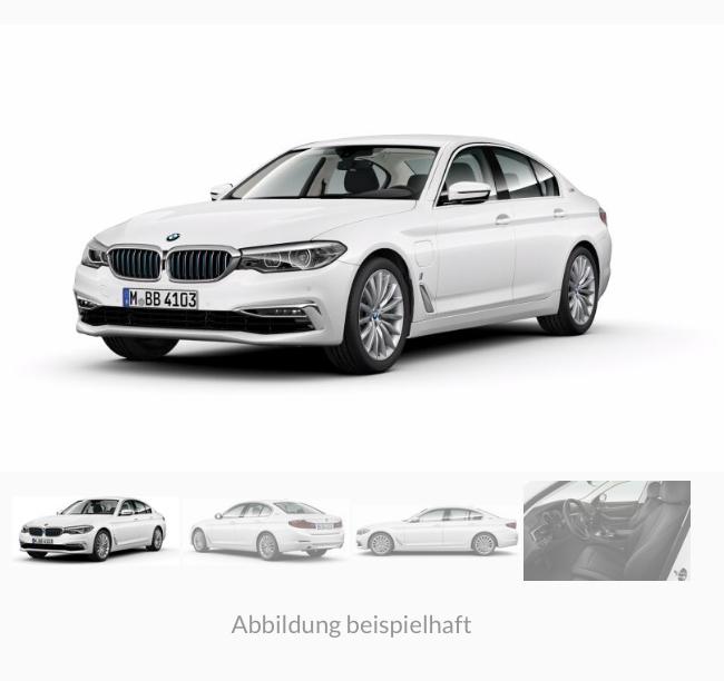 Privat/Gewerbe: BMW 530e iPerformance als Jahreswagen ab 289€ (netto) / 335,24 brutto