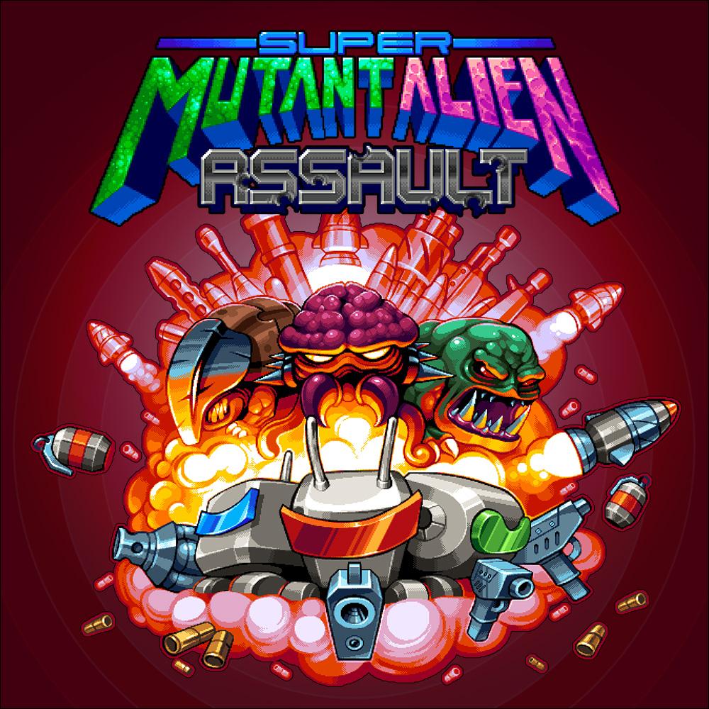 Super Mutant Alien Assault (Nintendo Switch)