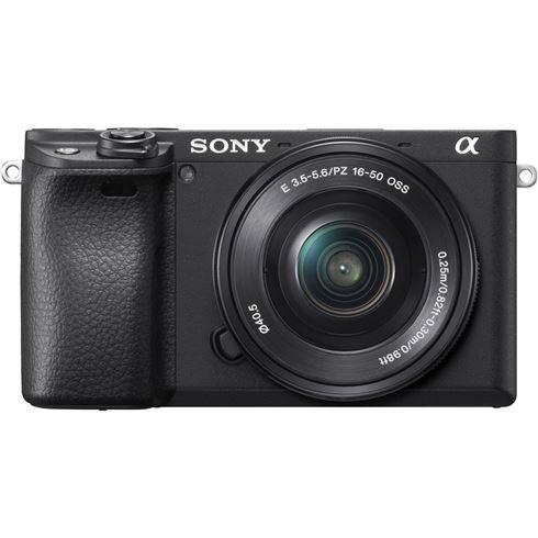 Sony Alpha 6400 (Kit 16-50 mm) + kostenloser Akku