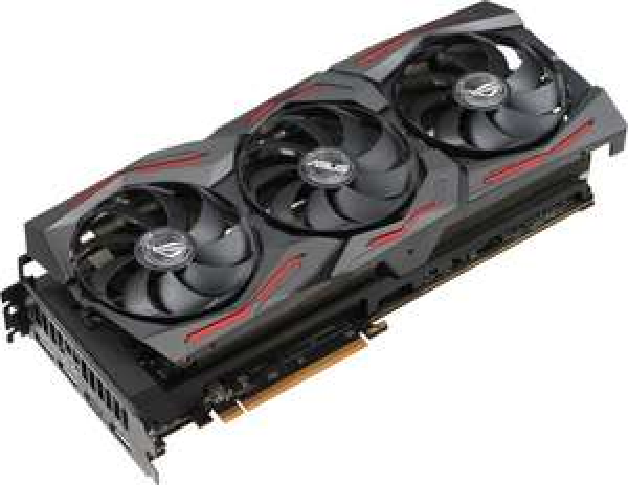 ASUS ROG Strix Radeon RX 5700 XT OC, ROG-STRIX-RX5700XT-O8G-GAMING, 8GB GDDR6, HDMI, 3x DP (90YV0D90-M0NA00)