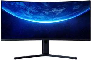 "Vorbesteller: Xiaomi 34"" Mi Curved Gaming Monitor (S-VA Panel, 300 Nits, 3.440x1.440, 21:9, 144Hz, 4ms, FreeSync Prem., 121% sRGB )"