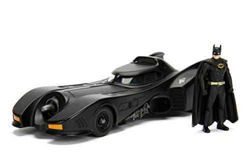 Jada Toys - 1989 Batmobil, Spielzeugauto inkl. Batman Figur, Maßstab 1:24 für 24,67€ (Amazon Prime)