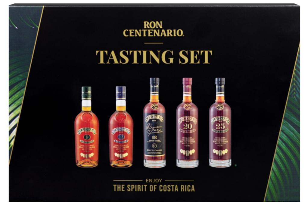 Ron Centenario Rum Tasting Set | beinhaltet Centenario 9, 12, 18, 20 & 25 | 40 % vol | 5 x 50 ml