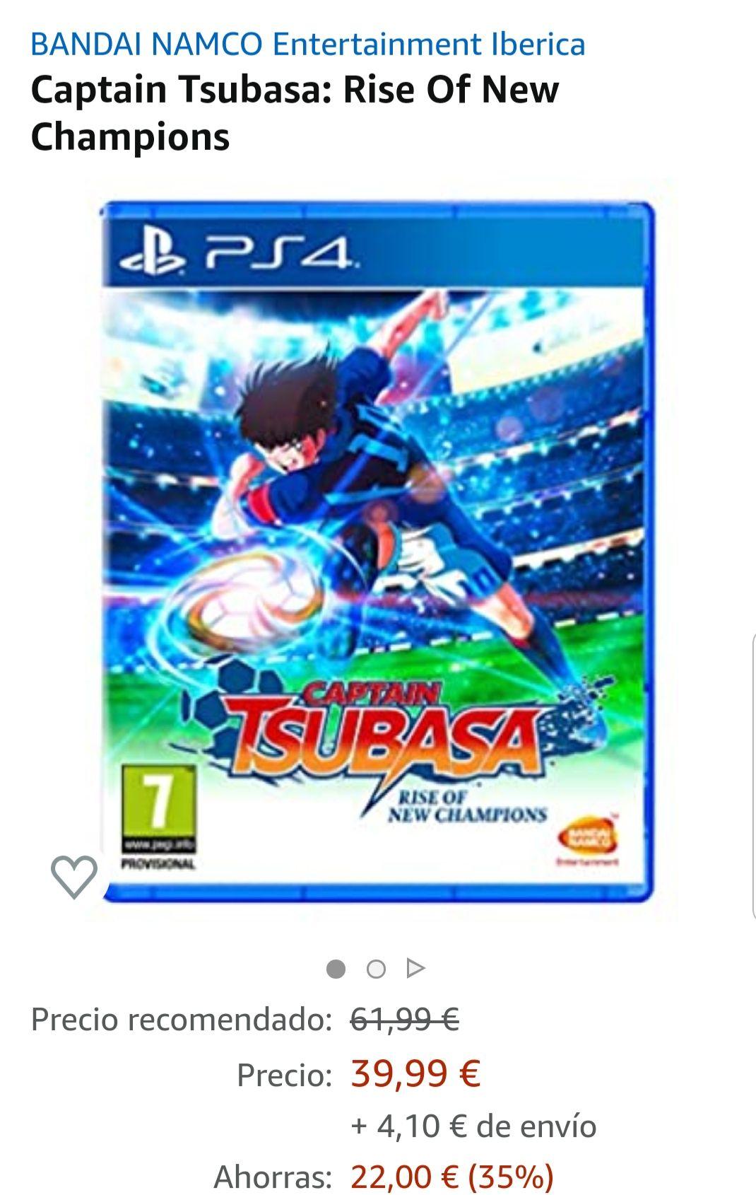 Captain Tsubasa PS4