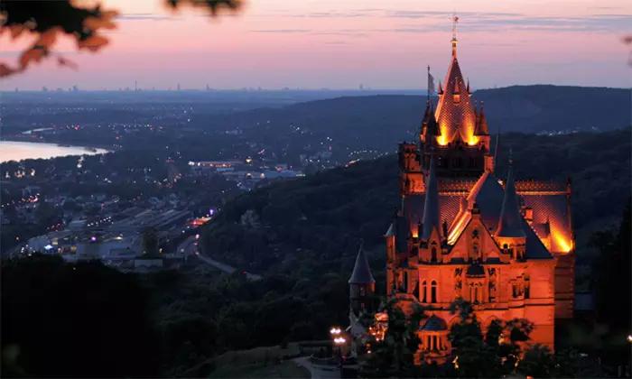 Schloss Drachenburg Eintritt ins Schloss inkl. Museum für 4 Personen