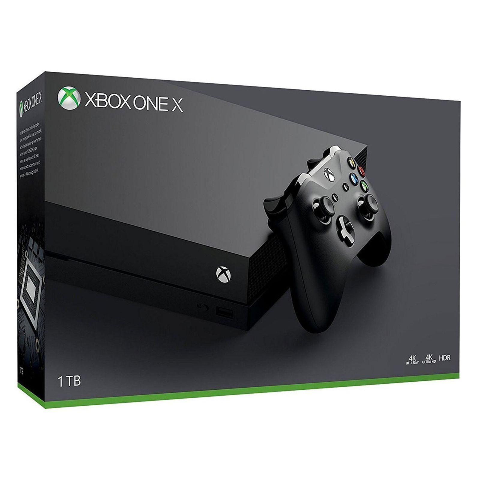 Microsoft Xbox One X 1TB - Neu