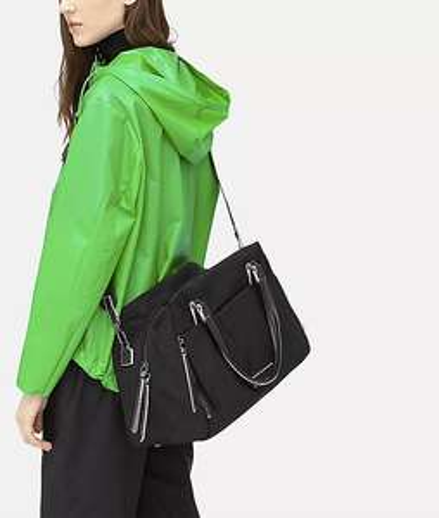 Liebeskind 'Monterey Satchel M' Handtasche aus Nylon mit abnehmbarem Schulterriemen