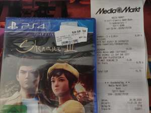 [Lokal Media Markt Bonn] Shenmue 3 Day One Edition 9,75€ PS4 // Borderlands 3 für 5€ PS4