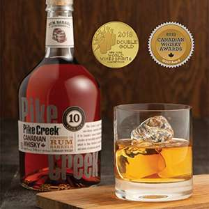 Pike Creek 10 Jahre Rum Barrel Finished Canadian Whisky | 42 % vol | 0,7 l