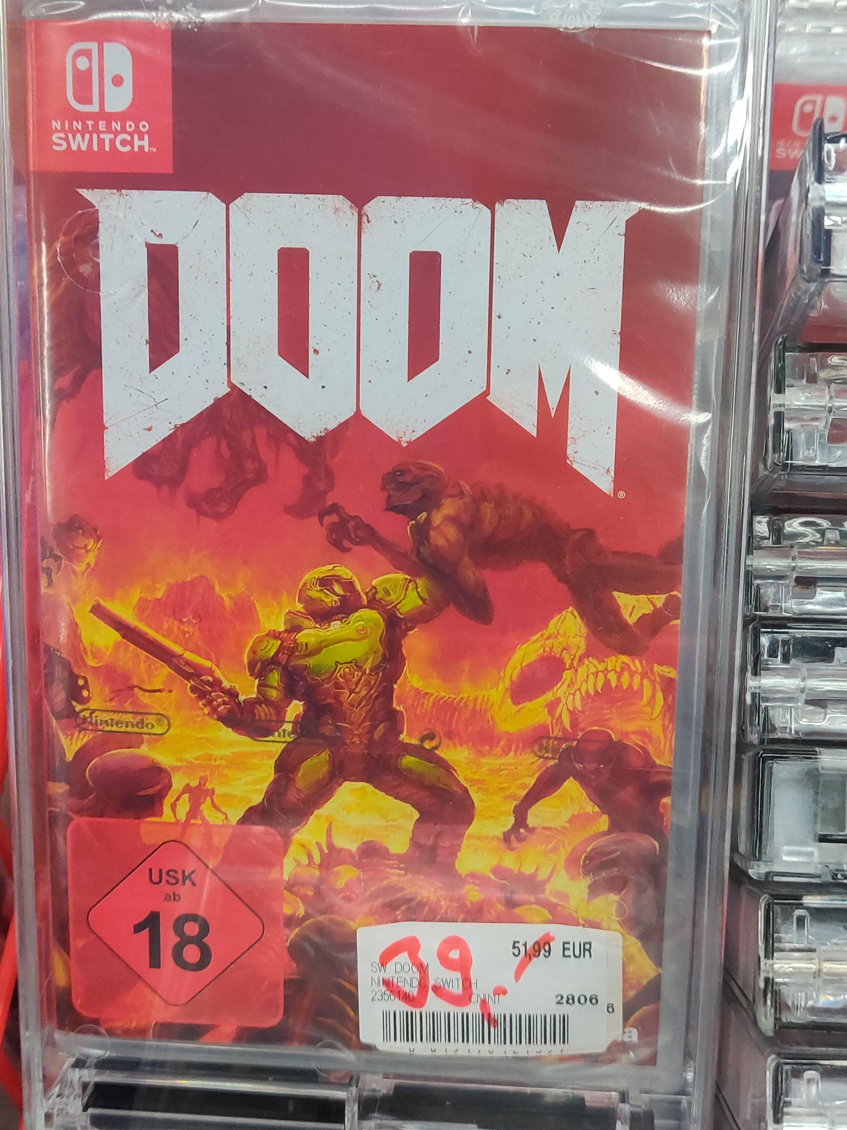 [Lokal Stuttgart] Doom - Nintendo Switch