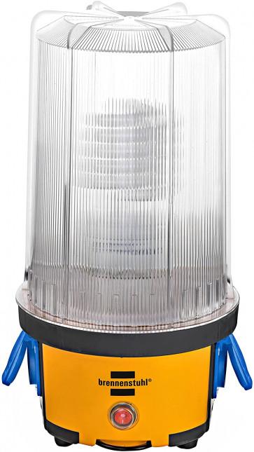 """Brennenstuhl """"Brobusta RL"""" (englische Version mit Adapter, E27-Sockel, 2 Schuko-Steckdosen bis 3500W, An/Aus-Schalter, IP54)"""