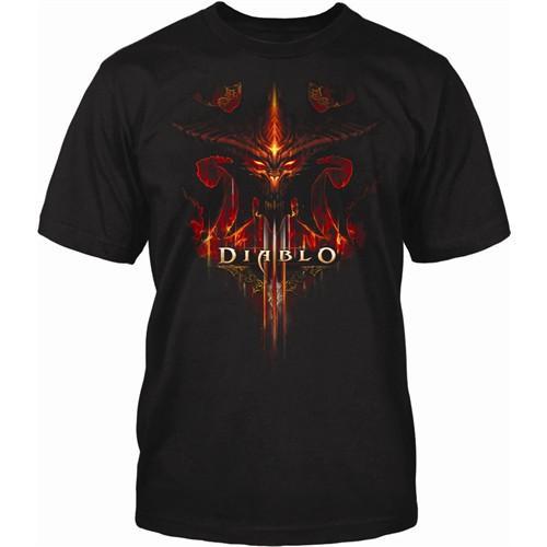"(UK) Diablo III ""Burning"" T-Shirt für 6.49€ inkl. Versand @ play"