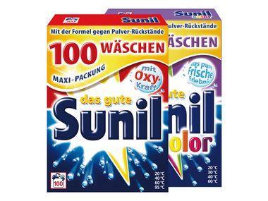 Maxi Packung Sunil Pulver 100 Wäschen  - 1 WL = € 0.10 in Lidl Filialen ab Morgen 9,99 Euro
