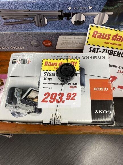 Lokal - MM Reutlingen Sony alpha 6000 kit