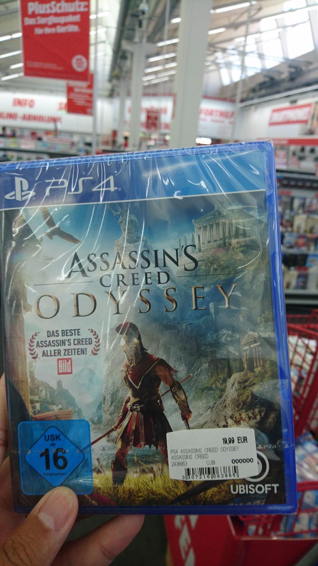 [lokal] Augsburg Media Markt - Assassin's Creed Odyssey PS4
