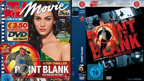 """TV Movie mit dem Top-Thriller """"Point Blank - Aus kurzer Distanz"""" auf DVD für nur 3,50 Euro oder Blu-ray für 5,99 Euro"""