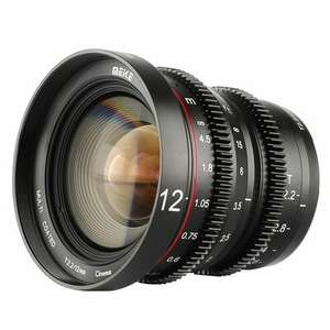 (Fotokoch) Meike 12mm T2.2 Cine Lens (Micro Four Thirds) für € 319,-