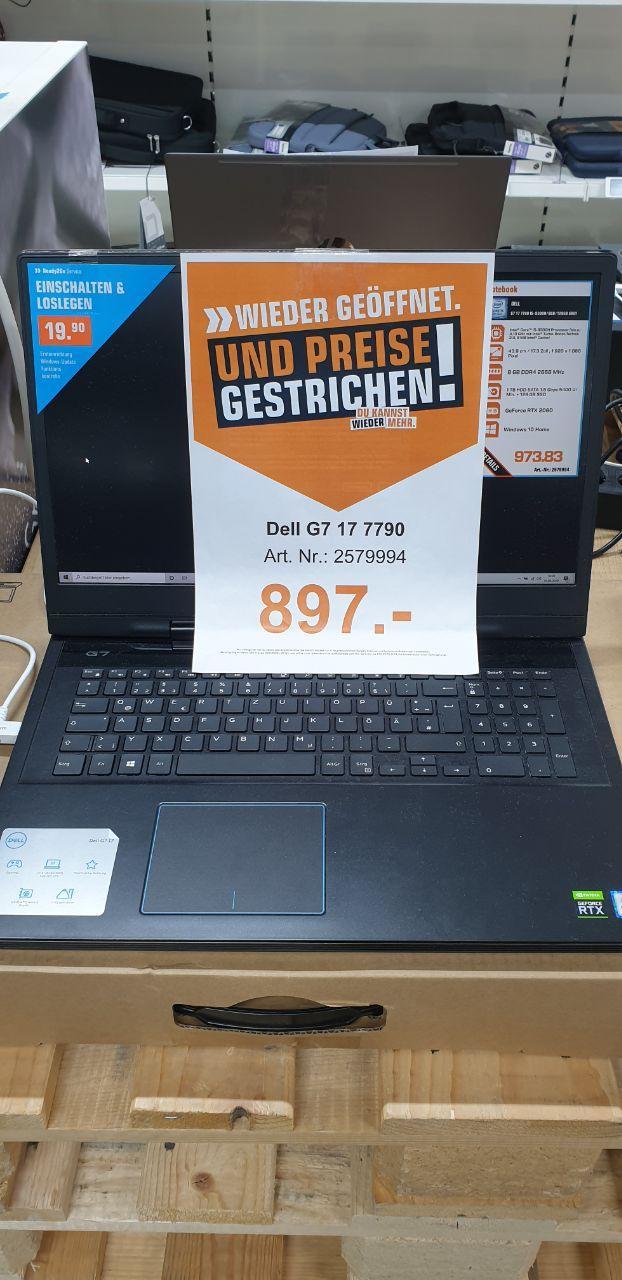 "[SATURN-Remscheid] Dell G7 7790 17"", i5-9300H / 8GB / 1TB HDD+128GB SSD / RTX 2060"