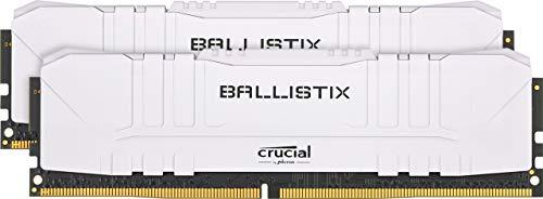 Ballistix TM White 32GB Kit (DDR4, 2666 MHz, CL16, DIMM)